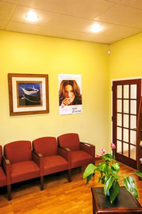 Bradley Dental - Reception Area