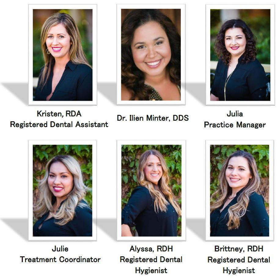 friendly dental team of signature dental care