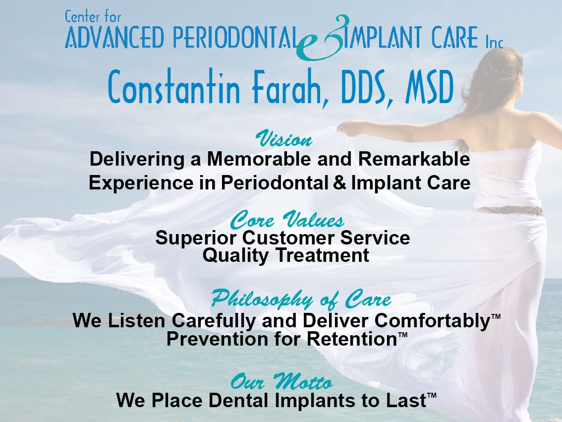 Advanced Periodontal