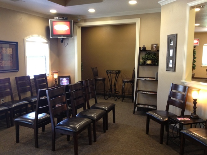 Gallagher Orthodontics Lobby in Grapevine, Texas