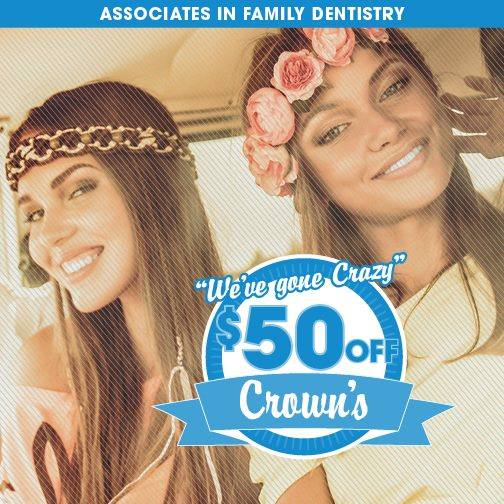 $50 Off Crowns
