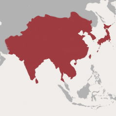 Central and East Asia Map