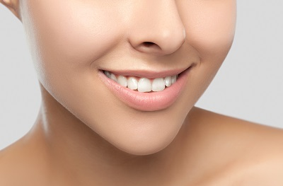 Image of close up of beautiful smile