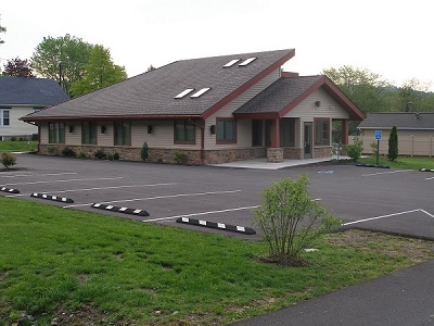 outside view of modern family dentistry building
