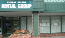 Coram-Selden Dental Group front door