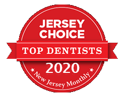 Top Dentist 2020 award from Jersey Choice for Frost Dental Group