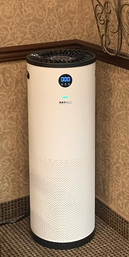 frost dental group in ritherford, nj uses jade air purifiers to provide disinfected air.