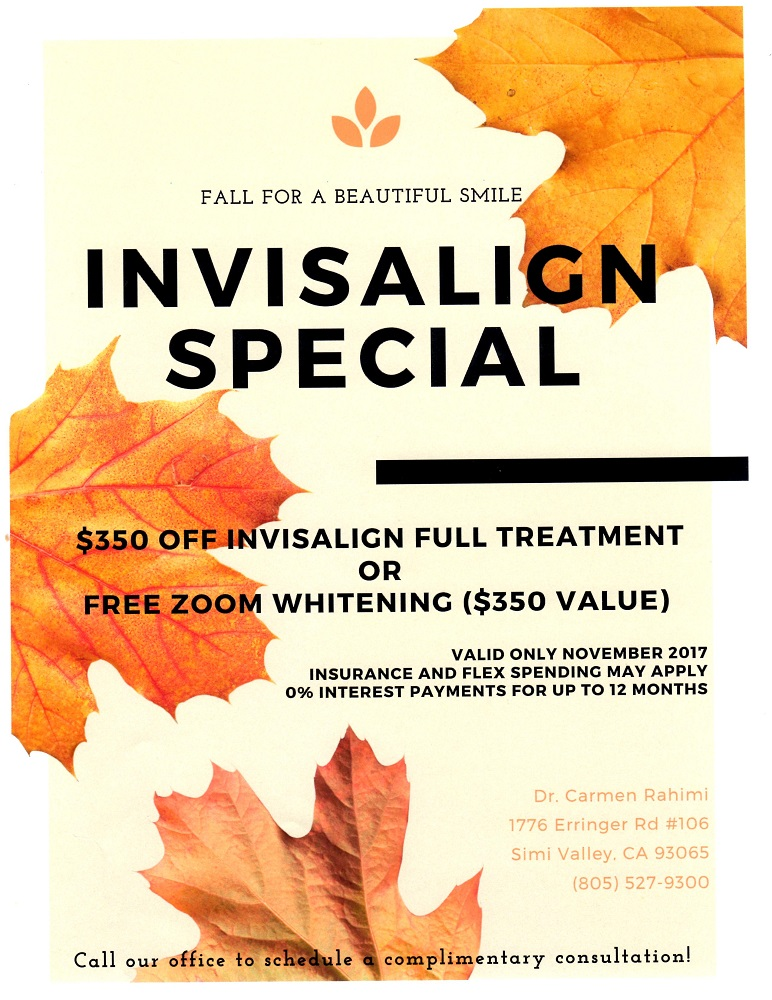 $350 OFF Invisalign in Simi Valley