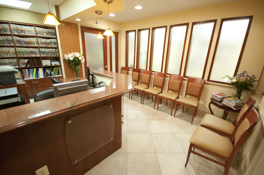 Potomac Dental Clinic Waiting Room