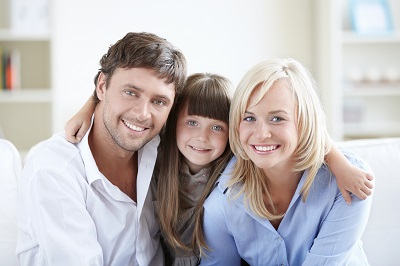 Image of happy family at home