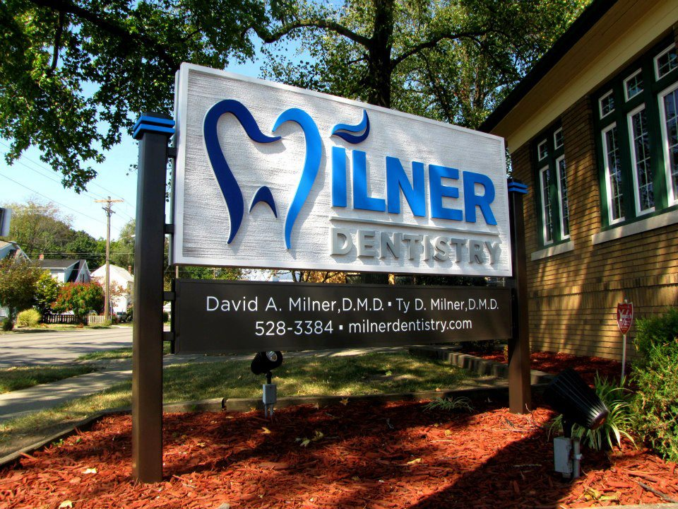 Exterior of Milner Dental in Springfield, IL