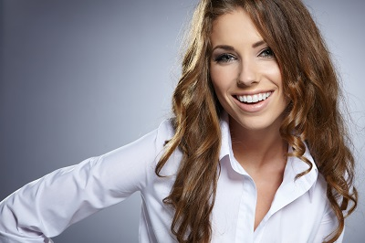 beautiful smile with cosmetic dental care in jeffersonville