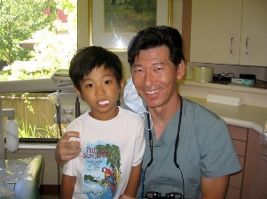 dr kim with patient