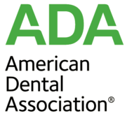 The American Dental Association (ADA) logo
