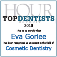 Hour Top Dentist award for Eva Goriee