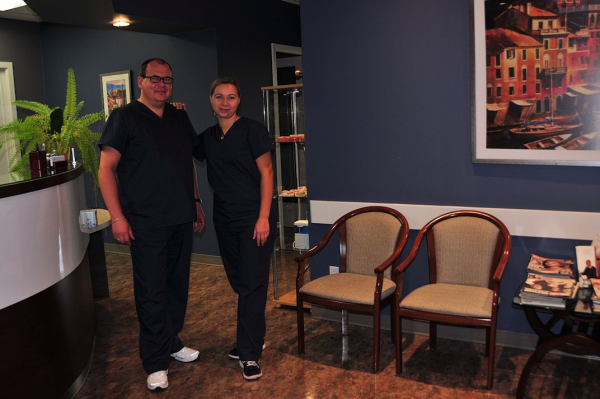 Office Tour Chris and Kaja Delton Denture Clinic