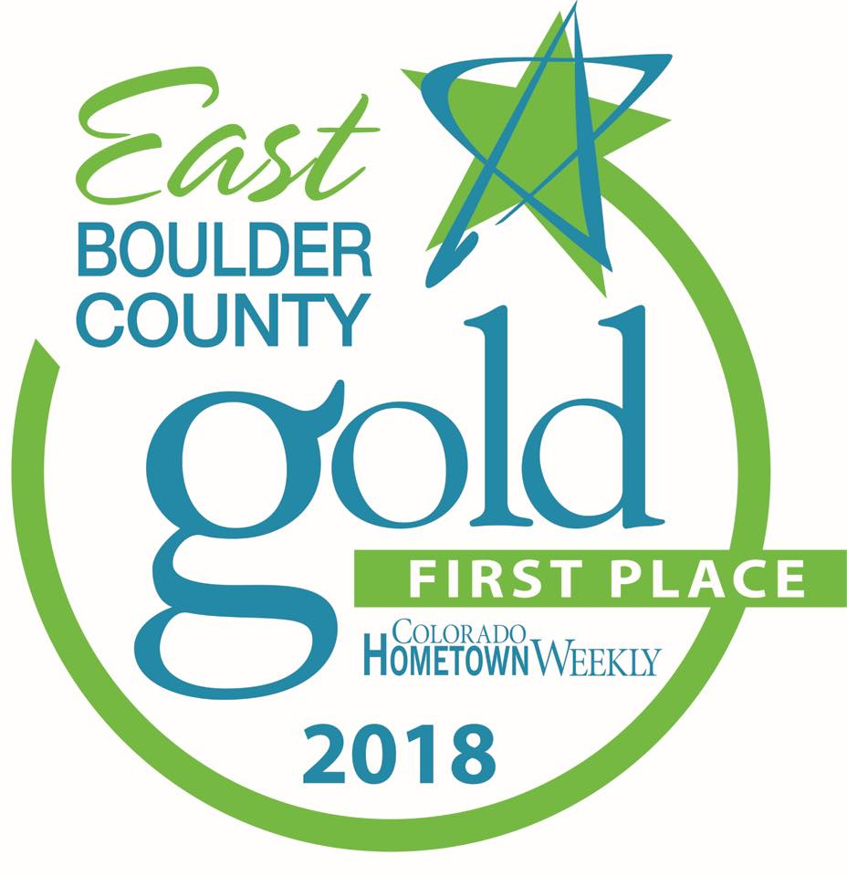 Image of 2018 East Boulder County Gold First Place Hometown Weekly winner