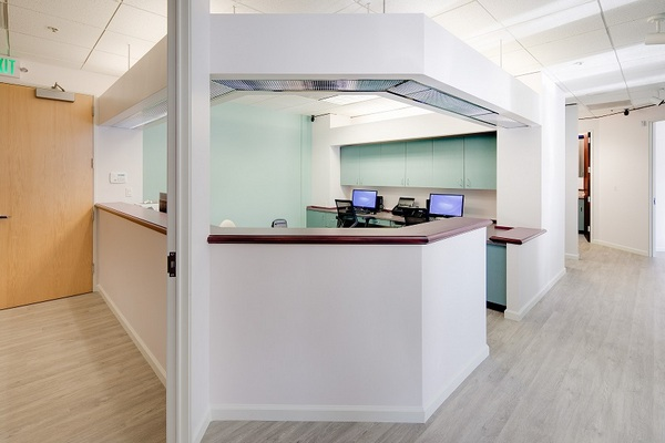 Santa Fe Dental Group - reception desk
