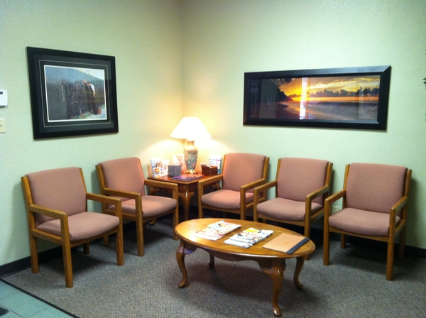 Lobby of our Frenso Dental office, Dr. Palafox