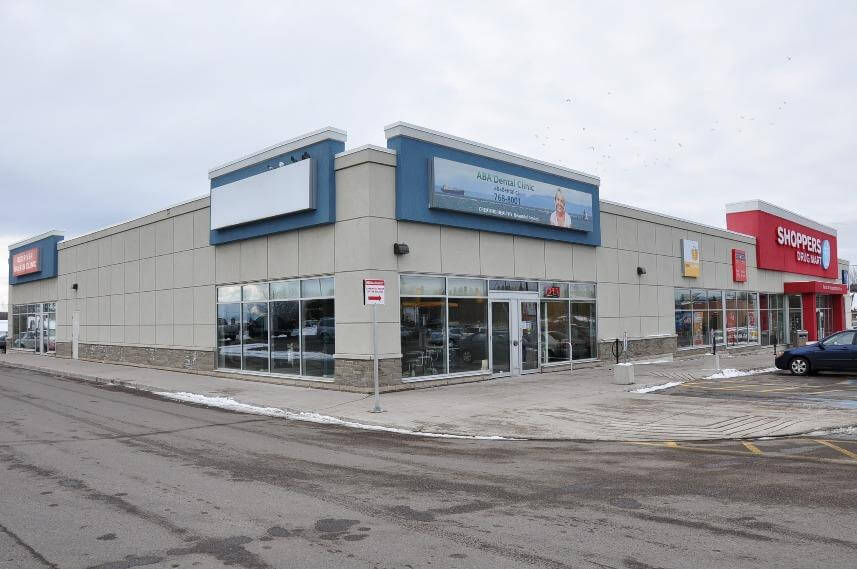 ABA Dental office front in Thunder Bay
