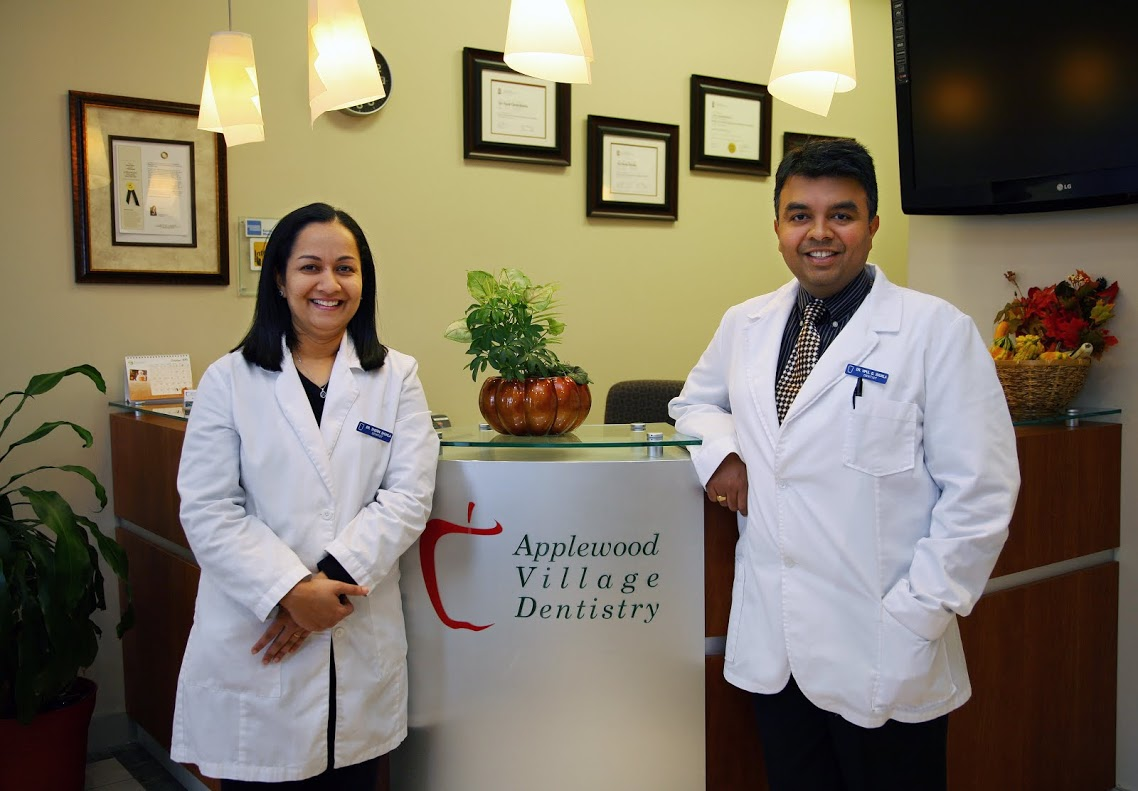Dentists in Mississauga at Applewood Village Dentistry