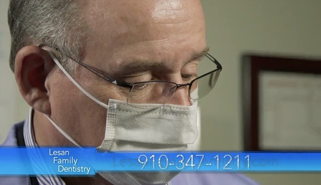 A man that performs general dentistry in Jacksonville, NC