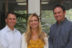 Drs. Mark and Eric Axelrode and Dr. Charlene Rocha