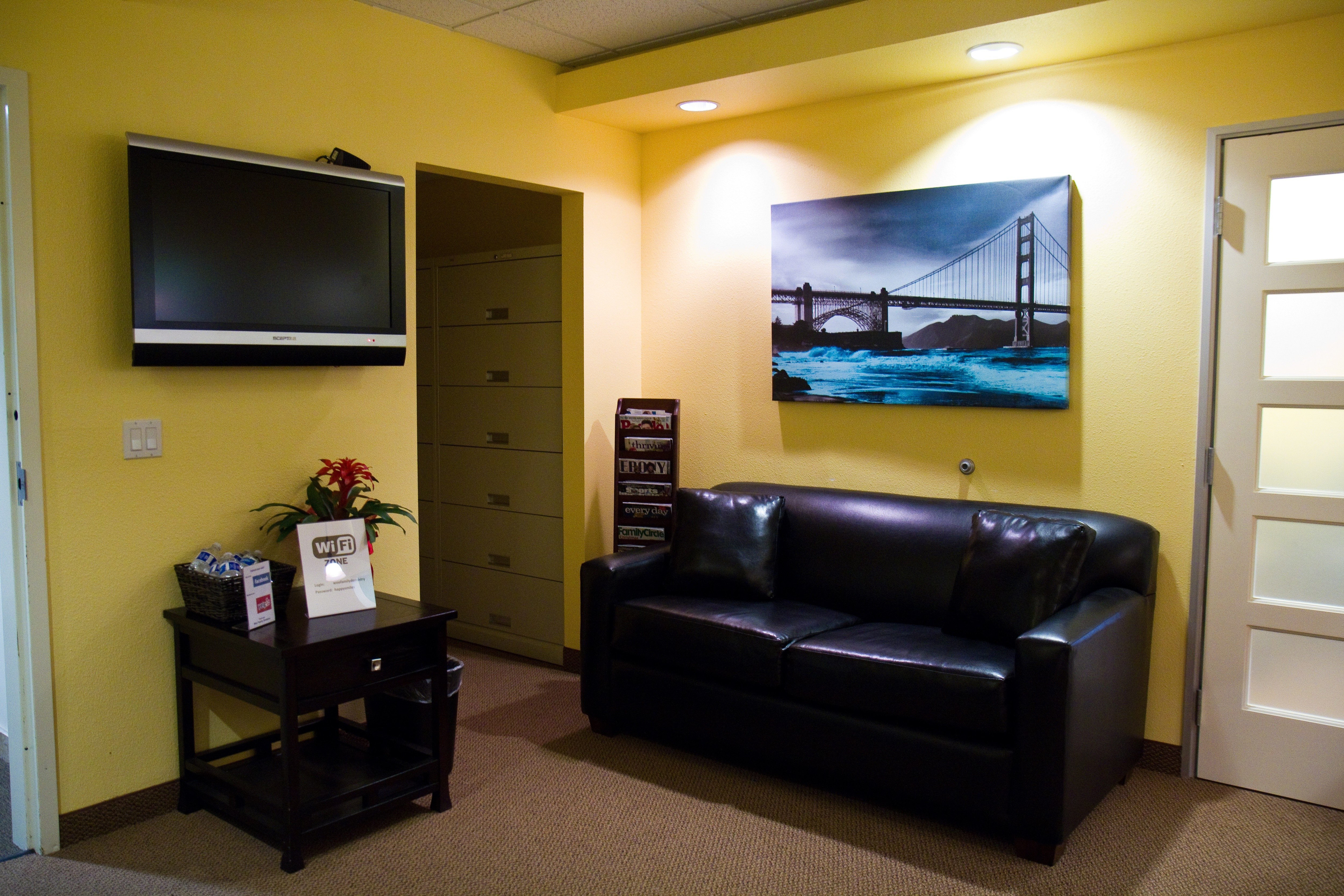 Office of Woo Family Dentistry in San Leandro