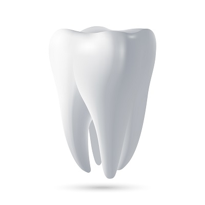 3D render of tooth