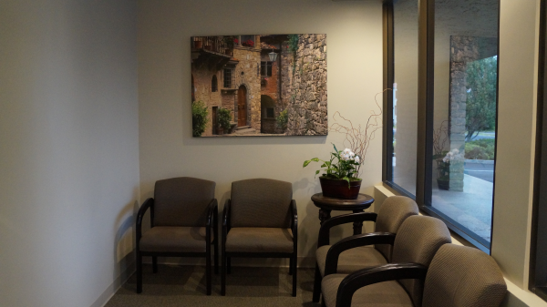 Waiting Area at RB Family & Cosmetic Dentistry