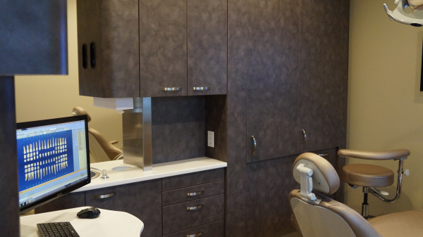 Exam Room at RB Family & Cosmetic Dentistry