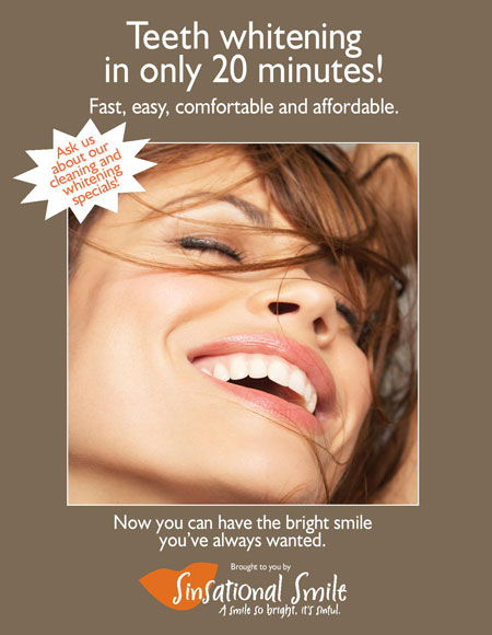 Sinsational Smile Teeth Whitening in Rocklin