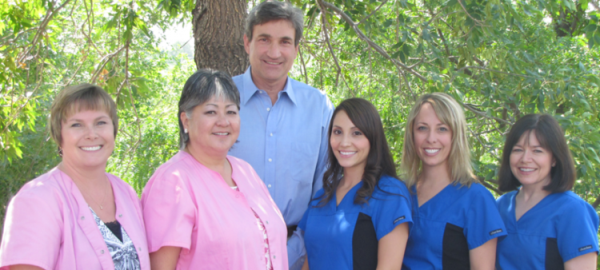 Picture of dental team at Alpine Dental Center in Thornton, CO