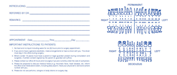 dentist referral form