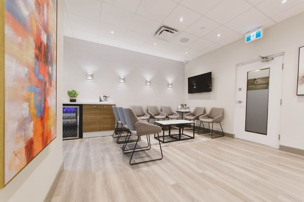 waiting room langley perio & implants