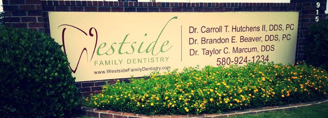 Westside Family Dentistry office sign