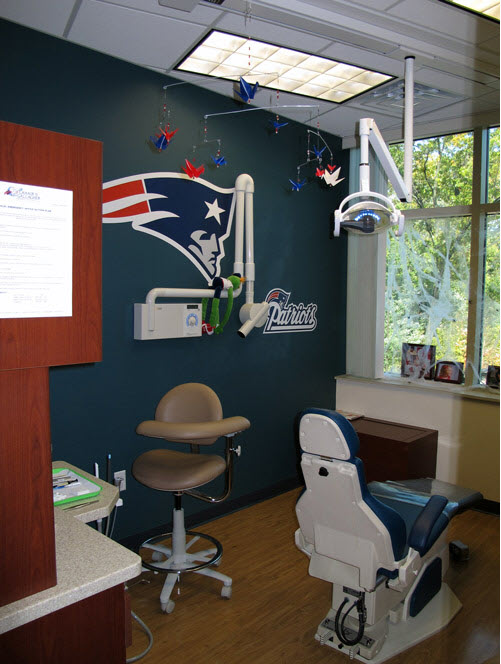 Picture of operatory at Lahair & Gallagher Pediatric Dentistry & Orthodontics