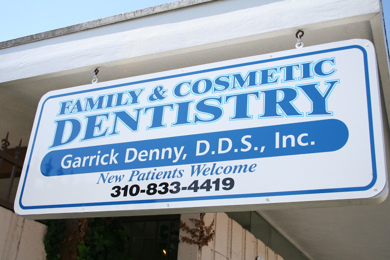 Garrick Denny, DDS Dental Office Sign