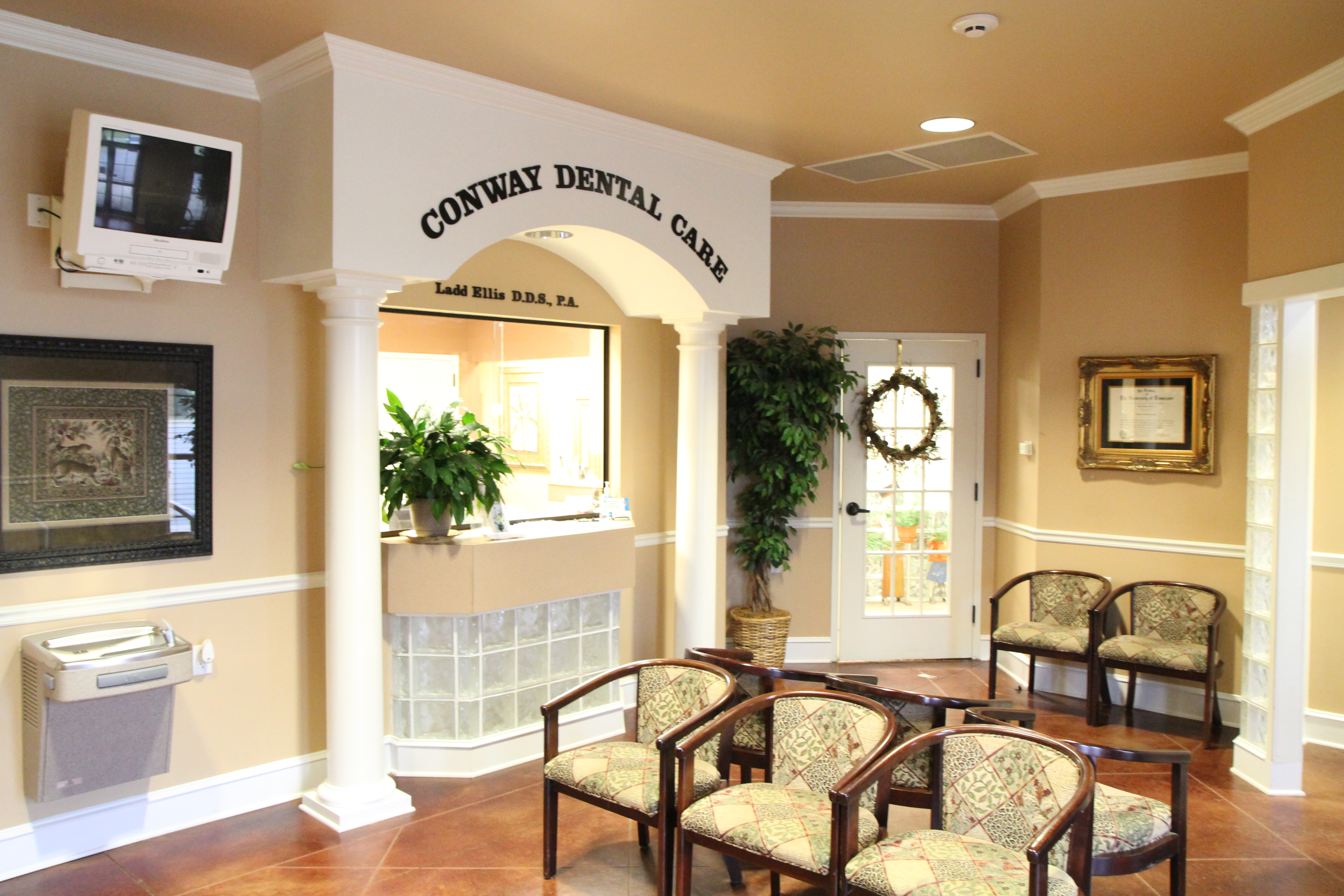 Picture of Ladd Ellis, DDS front room  |Conway Family Dental